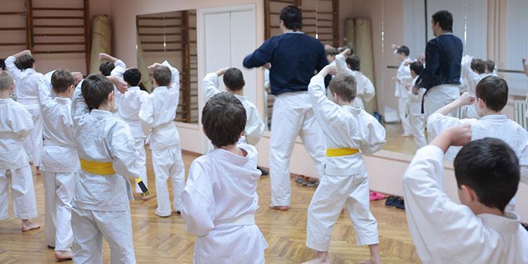 martial arts kids